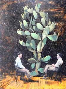 LORENZO MOYA, 'Conversations with a cactus', 2020