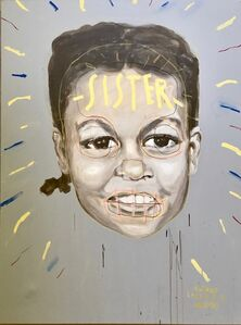 "Nathan Louis Valensky, '""SISTER"" (Michelle Obama)', 2018"
