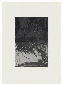 Brice Marden, 'Untitled Press Series #3', 1972