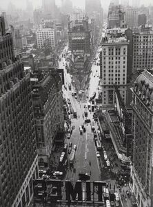 Lou Stoumen, 'Times Square in the Rain', 1940-printed later