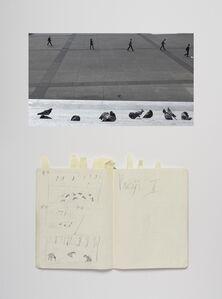 Paulien Oltheten, 'Birds and people, Notebook', 2020