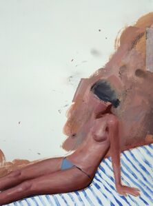 Daniel Segrove, 'Sunbather', 2017