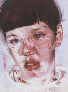 Jenny Saville, 'Red Stare Head IV', 2006-2011