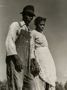 Jack Delano, 'untitled (man in overalls and hat, woman in apron)', 1940-1949
