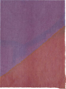 Anne Truitt, 'Rice-Paper Drawing [2]', 1965