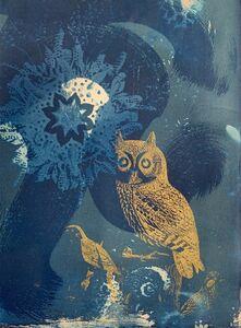 Peggy Cyphers, 'Corona Owl Icon', 2019-2020