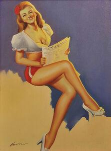 Hamilton, 'Pin-up Calendar Illustration', 20th Century