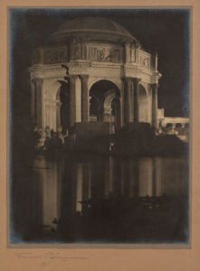 Francis Bruguière, 'The Rotunda, [The Palace of] Fine Arts, [San Francisco]', 1915