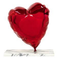 Balloon Heart - Chrome Red