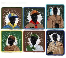 Kerry James Marshall, 'Set of Six (Six) Scout Series Embroidered Patches', 2017