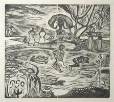 Paul Gauguin, 'Mahana Atua (Le Jour des dieux)', ca. 1894