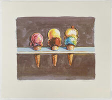 Wayne Thiebaud, 'Five Flavors', 2003