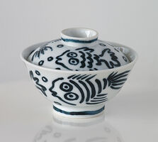 Keith Haring, 'Untitled (Pop Shop Tokyo - Serving Bowl)', 1987