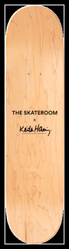 Keith Haring, 'Untitled (Snake) Skateboard Deck', 2019, Ephemera or Merchandise, 7-ply Canadian Maplewood with screen-print, Artware Editions