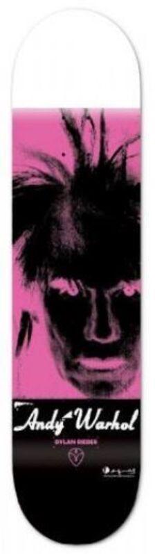 Andy Warhol, 'Fright Wig skateboard', 2011, Print, Screenprint on skateboard deck, EHC Fine Art