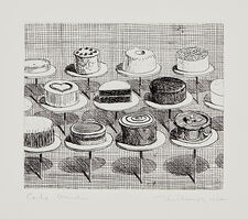 Wayne Thiebaud, 'Cake Window', 1964