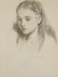 Lilian Westcott Hale, 'Sandra', ca. mid-1940s