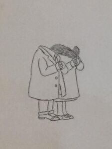 """Maurice Sendak, 'Original Pencil Drawing from PIERRE, """"I DONT CARE"""" (CBS 1970s)', 1970-1979"""