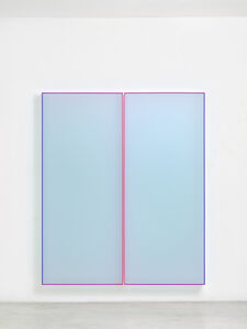 Regine Schumann, 'Color Satin Ice Blue Tokyo', 2018