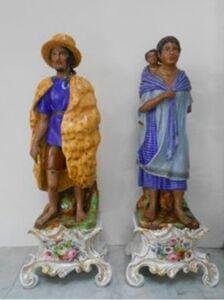 Vieux Paris, 'Indios Carboneros y Labradores de la Ciudad De México'