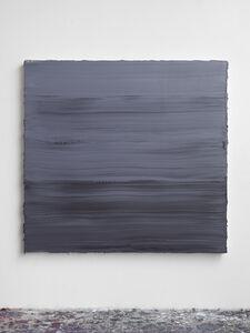 Jason Martin, 'Untitled (Graphite Grey/ Titanium White/ Prussian Blue) II', 2018