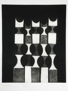 Anwar Jalal Shemza, 'Untitled', 1959