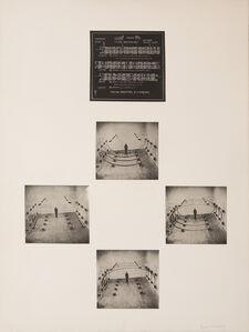 Bernhard Leitner, 'Raumvariation einer Röhre / Spatial Variation of a Corridor', 1973