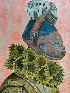 Wole Lagunju, 'The Golden Age ', 2017