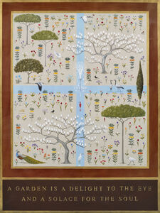 Rebecca Campbell, ''A garden is a delight to the eye, and a solace for the soul.' Saadi (1210-1292)', ca. 2020