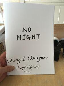 Cheryl Donegan, 'No Night', 2019
