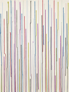 Ian Davenport, 'Staggered Lines Rudiments no. 1', 2015