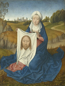 Hans Memling, 'Saint Veronica [obverse]', ca. 1470-75
