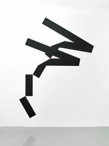 Mehdi Moutashar, 'quatre plis à 20° et 120° et deux angles à 60°', 2014