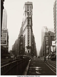 Lou Stoumen, 'Two Images of Times Square, New York', circa 1940