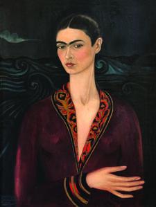 Frida Kahlo, 'Autorretrato con traje de terciopelo', 1926