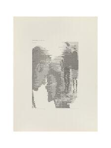 Waldemar Cordeiro, 'Derivadas de uma imagem: Transformação em Grau 0', 1971