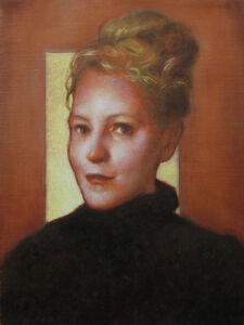 Daniel Maidman, 'Red Painting ( Portrait of Diane Feissel)', 2020