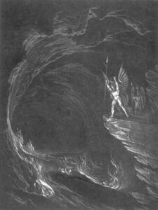 John Martin (1789-1854), 'Satan Arousing the Fallen Angels', 1825