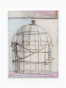 Merlin James, 'Birdcage', 2018