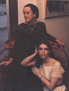 "Marie Cosindas, 'Portrait from ""Athenaeum Laides""', 1969"