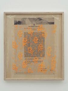 Yuki Okumura, 'Collaboration Study (Fontana Hisachika Painting - Orange) ', 2019