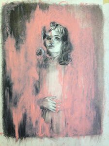 Mercedes Helnwein, 'Middle South'