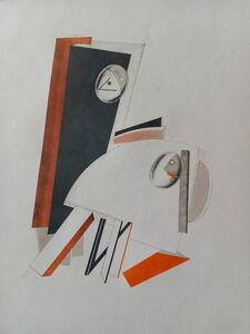 El Lissitzky, 'ANXIOUS PEOPLE', 1923