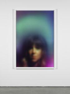 Susan Hiller, 'Homage to Marcel Duchamp: Aura (Blue Woman)', 2017