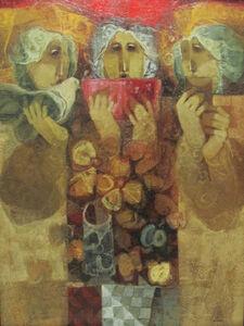 Alvar Sunol, 'Flors per tres'