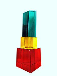 Sabine Wiedenhofer, '5th avenue Murano Glass Art Deco Tower', 2020