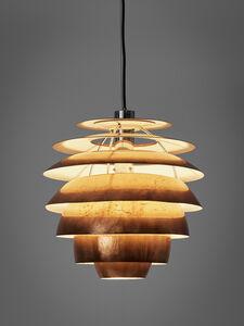 Stilnovo, 'Copper Pendant Model '1231'', 1960s