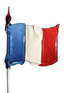 Massimo Gammacurta, 'LOLLIPOP French flag', 2013