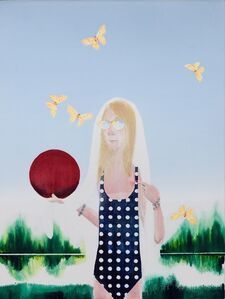 Barnaby Furnas, 'The Sunburned Girl', 2014