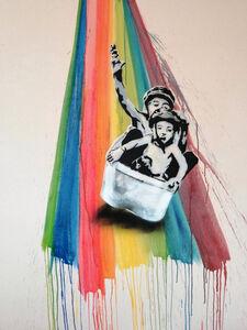 Dom Pattinson, 'Over The Rainbow', 2019